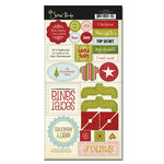 Scenic Route Paper - Roxbury Collection - Christmas - Chipboard - Roxbury Christmas , CLEARANCE