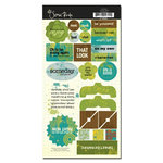 Scenic Route Paper - Grafton Collection - Chipboard - Boys, CLEARANCE
