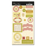 Scenic Route Paper - Sonoma Collection - Chipboard - Baby Cakes, CLEARANCE