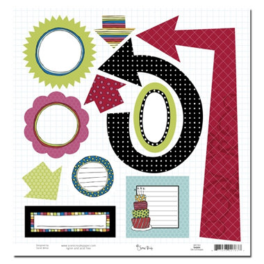 Scenic Route Paper - Surprise Collection - Die Cuts - Shapes