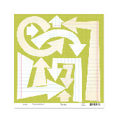 Scenic Route Paper - Die Cuts - Arrows Background, CLEARANCE
