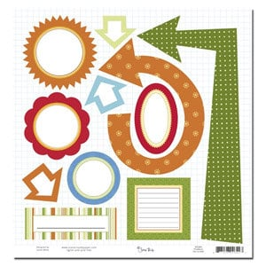 Scenic Route Paper - Providence Collection - 12x12 Die Cut Shapes - Providence, CLEARANCE