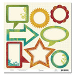 Scenic Route Paper - Grafton Collection - 12x12 Die Cut Journaling - Grafton, CLEARANCE