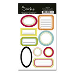 Scenic Route Paper - Garden Grove Collection - Cardstock Stickers - Labels, CLEARANCE