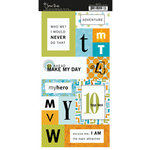 Scenic Route Paper - Stickers - Metropolis - Monogram MTVWY, CLEARANCE
