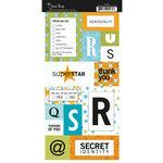 Scenic Route Paper - Stickers - Metropolis - Monogram QURS, CLEARANCE