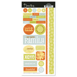 Scenic Route Paper - Ashville Collection - Cardstock Stickers - Family