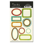 Scenic Route Paper - Grafton Collection - Cardstock Stickers - Labels