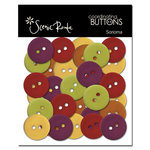 Scenic Route Paper - Sonoma Collection - Coordinating Buttons
