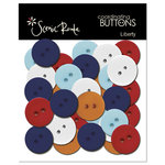 Scenic Route Paper - Liberty Collection - Buttons