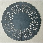 SRM Press - Lancaster Doilies - Black Lace