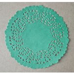 SRM Press - Lancaster Doilies - Green Lace
