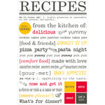 SRM Press Inc. - Cooking Collection - Stickers - Express Yourself - Recipes