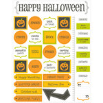 SRM Press Inc. - Halloween Collection - Stickers - Live Life - Halloween