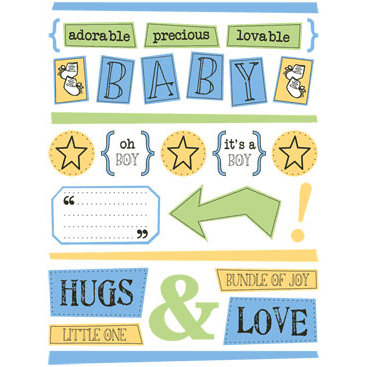 SRM Press Inc. - Baby's First Year Collection - Freestyle - Baby Boy