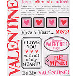 S.R.M. Press, Inc. - Stickers - Say It With Stickers - Valentine