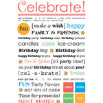 S.R.M. Press, Inc. - Stickers - Express Yourself - Birthday