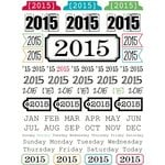 SRM Press Inc. - Stickers - Year of Memories - 2015