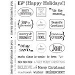 SRM Press Inc. - Card Collection - Stickers - Sentiments - Happy Holidays
