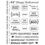 SRM Press Inc. - Card Collection - Stickers - Sentiments - Halloween