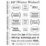 SRM Press Inc. - Card Collection - Stickers - Sentiments - Winter