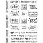 SRM Press Inc. - Card Collection - Stickers - Sentiments - Summer