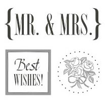 SRM Press Inc. - Card Collection - Stickers - Quick Cards - Mr. and Mrs.