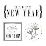 SRM Press Inc. - Card Collection - Stickers - Quick Cards - Happy New Year