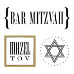 SRM Press Inc. - Card Collection - Stickers - Quick Cards - Bar Mitzvah
