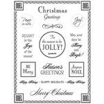 SRM Press Inc. - Card Collection - Stickers - Fancy Sentiments - Christmas