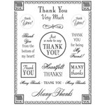 SRM Press Inc. - Card Collection - Stickers - Fancy Sentiments - Thanks