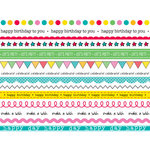 SRM Press Inc. - Stickers - We've Got Your Border - Birthday