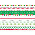 SRM Press Inc. - Stickers - We've Got Your Border - Christmas