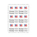 SRM Press Inc. - Stickers - By the Dozen - Patriotic