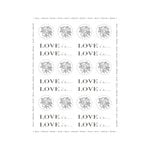 SRM Press Inc. - Stickers - By the Dozen - Wedding