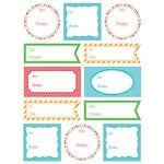 SRM Press Inc. - Stickers - Labels by the Dozen - Everyday Brights