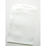 SRM Press Inc. - Embossed Glassine 5 x 7 Bags - Chevron
