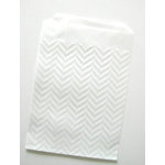 SRM Press Inc. - Embossed Glassine 3.25 x 4.75 Bags - Chevron