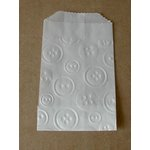 SRM Press Inc. - Embossed Glassine 4.75 x 6.75 Bags - Buttons
