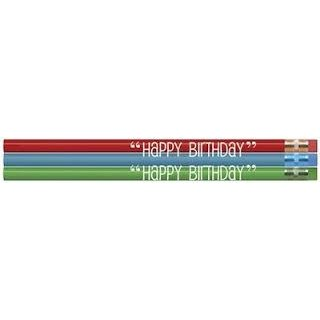 SRM Press Inc. - Happy Birthday Pencils