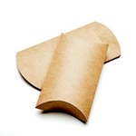 SRM Press Inc. - Kraft Pillow Boxes - Medium - Set of 12