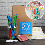 SRM Press Inc. - DIY Craft Kit - Birthday Pencils in Mason Jar