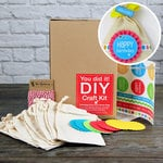 SRM Press Inc. - DIY Craft Kit - Birthday Party Favor Muslin Bags