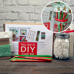 SRM Press Inc. - DIY Craft Kit - Christmas Pencils in Mason Jar