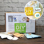 SRM Press Inc. - DIY Craft Kit - Baby Boy Clear Shower Purse