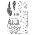 SRM Press - Jane's Doodles Stamp - Wise Owl