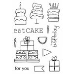 SRM Press - Jane's Doodles Stamp - Eat Cake