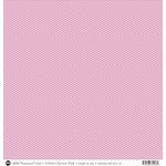 SRM Press - 12 x 12 Patterned Vinyl - Matte - Chevron - Pink