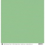 SRM Press - 12 x 12 Patterned Vinyl - Matte - Stripes - Green
