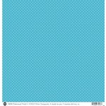SRM Press - 12 x 12 Patterned Vinyl - Matte - Dots - Turquoise